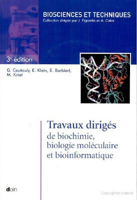 Télécharger Livre Gratuit Travaux dirigés de biochimie biologie moléculaire et bioinformatique pdf