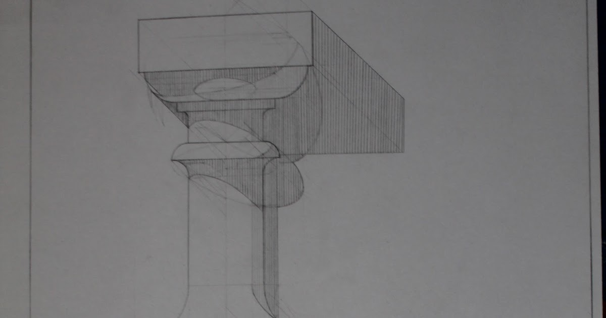 Архитектура и дизайн: Тени вращения поверхности. Балясина.