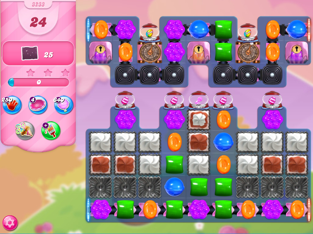 Candy Crush Saga level 3233