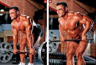 تمارين تضخيم عضلات الظهر بالصور