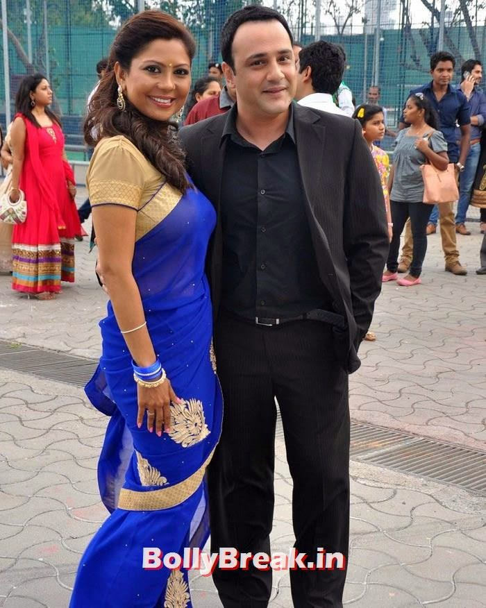 Manini Mishra, Mihir Mishra, Star Parivaar Awards 2014 Red Carpet Photo Gallery