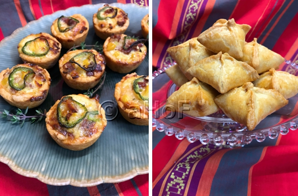 Smoky Andouille & Corn Tarts or Pouches