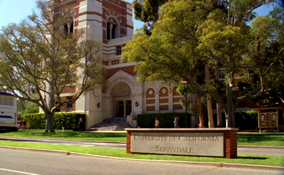 El instituto de Buffy Cazavampiros, en Sunnydale