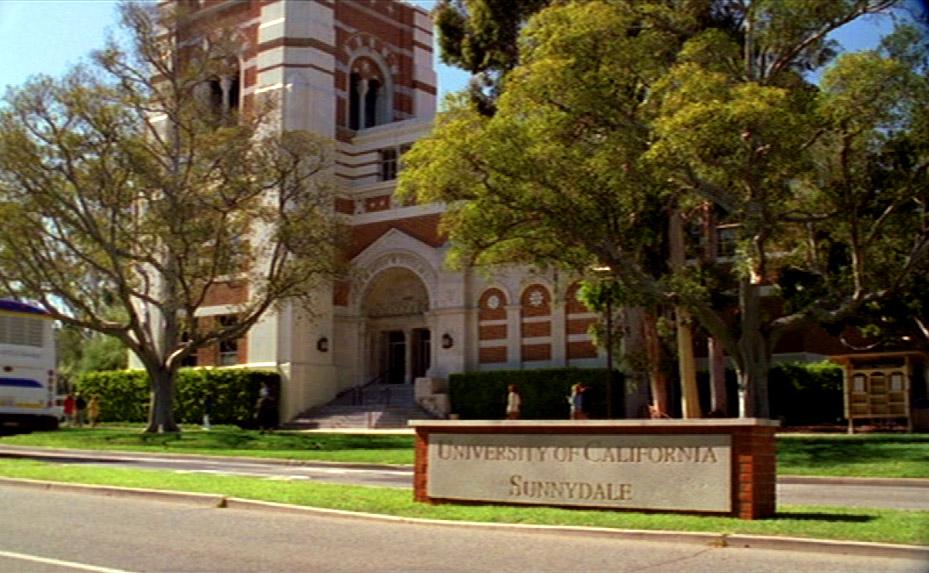 El instituto de Buffy Cazavampiros, en Sunnydale