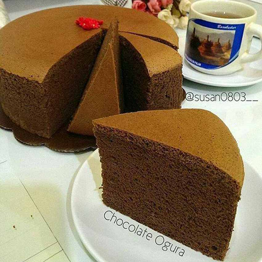 Resep Membuat Chocolate Ogura Super Moist