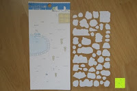 hinten: Blue Vessel 5 PCS Kreative Niedlichen Kaninchen Fett Papier Notebook Marker Label Notizblock Haftnotizen