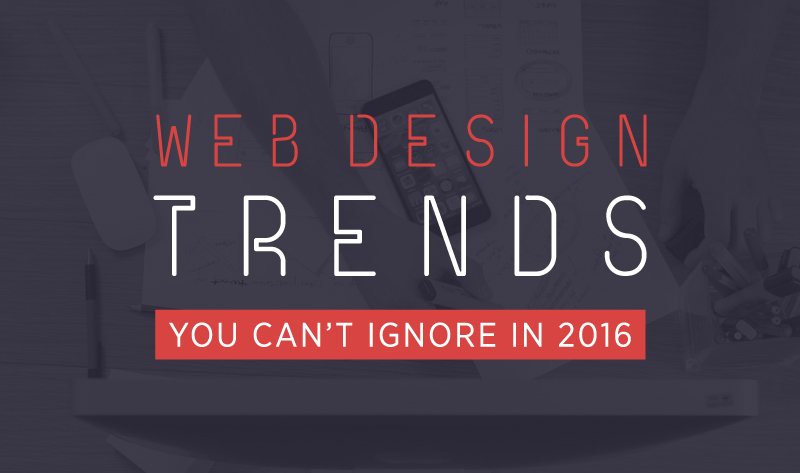 Web Design Stats You Can't Ignore in 2016 - infographic