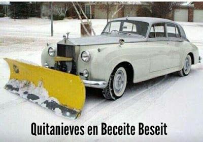 Quitanieves , Beceite, Beseit, Teruel