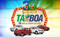 Promoção 'Tá de Boa Tá com a chave na mão' Boa Esperança 30 Anos