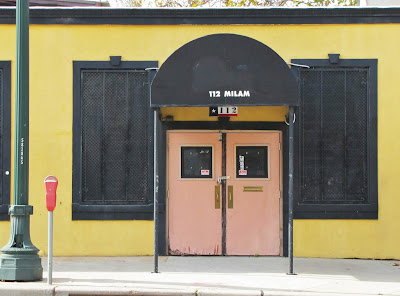 112 Milam Street Storefront in February 2013