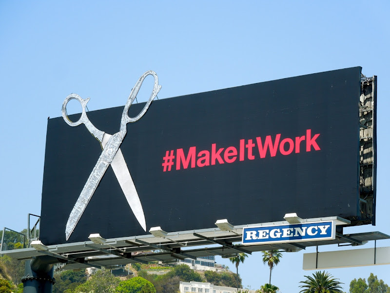 Project Runway Make It Work season 10 teaser billboard