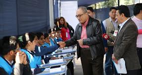 EXAMEN DE ASCENSO 2017: 84% de docentes inscritos rindió Prueba Única Nacional para ascenso en escala magisterial, informó el ministro de Educación, Idel Vexler - MINEDU - www.minedu.gob.pe