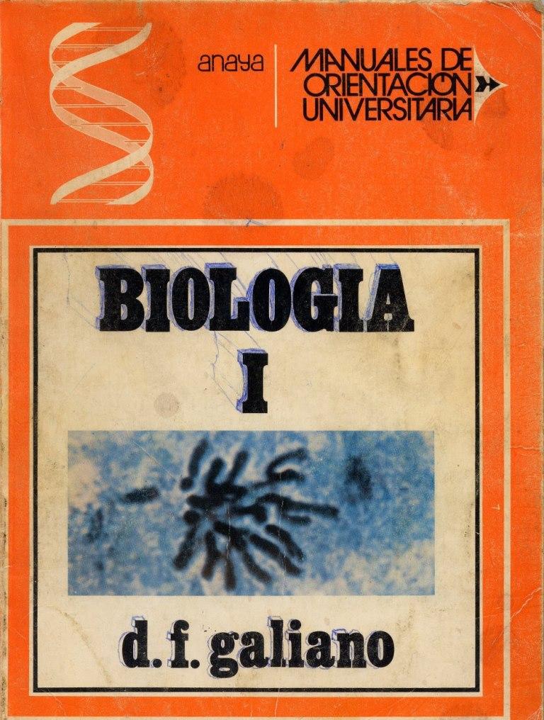 Biología I – D. F. Galiano