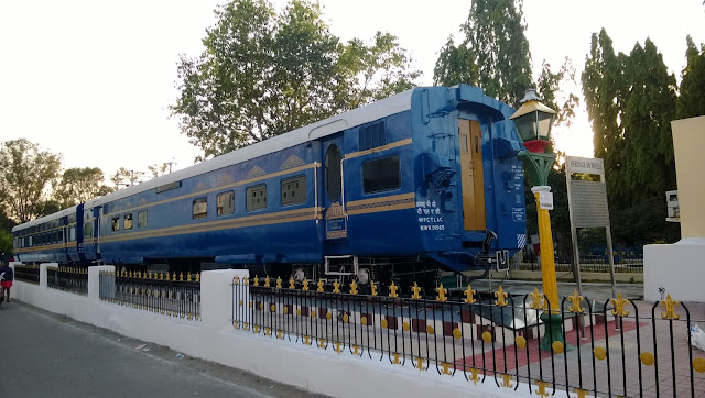 Kacheguda Rail Museum At Kacheduga Station in Hyderabad