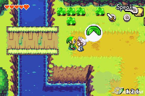 The Legend Of Zelda Minish Cap Gba Anime Manga And Games