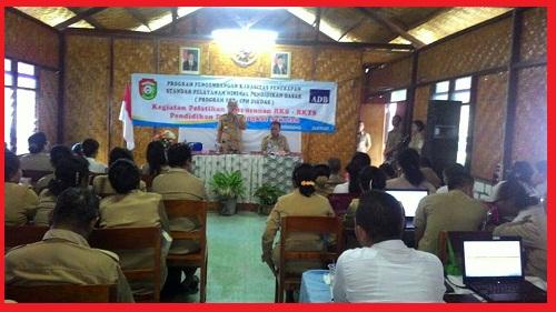 Bupati Sumba Barat , Drs. Agustinus Niga Dapawole Membuka Secara Resmi Kegitan Pelatihan Standar Pelayanan Minimal ( S P M )
