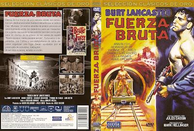 Carátula - Fuerza bruta - Entre rejas