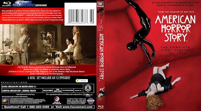 American Horror Story Season 1 Bluray Cover