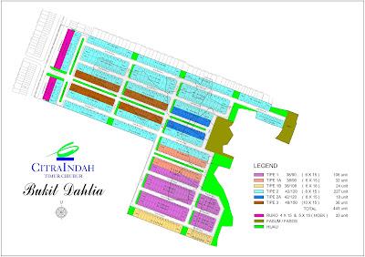 Siteplan-Bukit-Dahlia-Citra-Indah-City