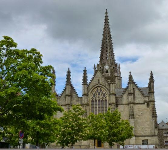 Iglesia de Notre-Dame de Vitré.