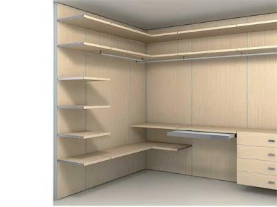 small dressing room design part of bedroom interior