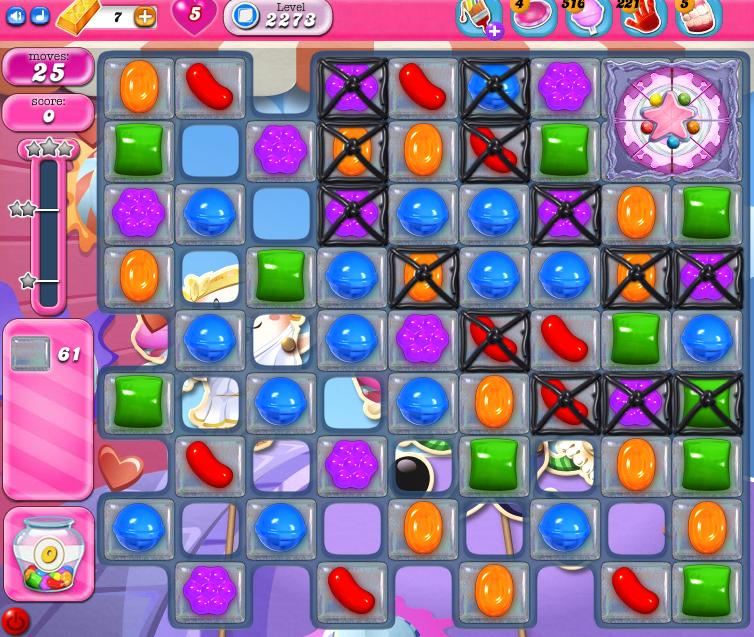 Candy Crush Saga level 2273