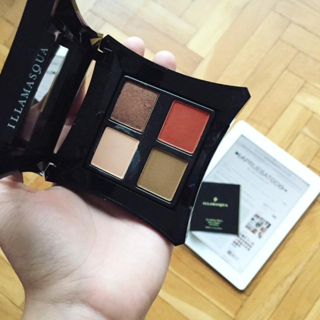 Vital Eyeshadow Palette Illamasqua