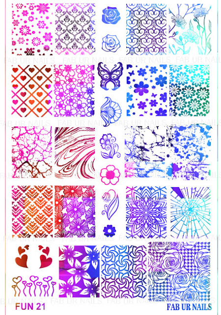 Hot Off The Stamping Press: New Fab Ur Nails Stamping Plates!