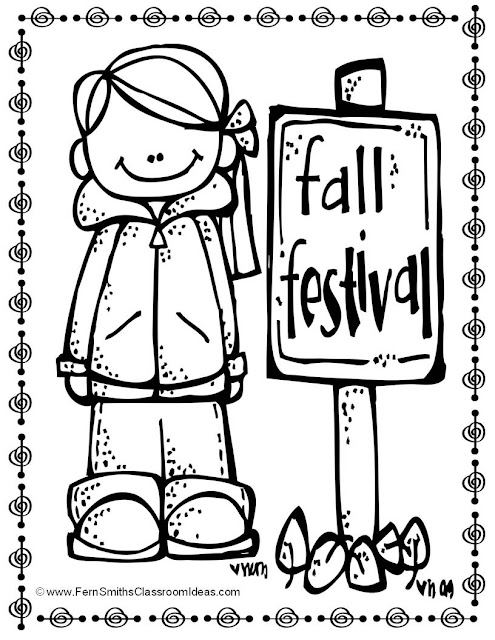Fern Smith's Classroom Ideas Color For Fun Coloring Pages for Fall ~ Adults Love Them Too! Available at TeacherspayTeachers.