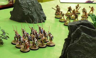 hoplites and slingers
