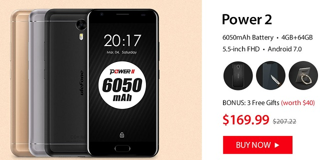 Ulefone-Power-2-special-offer