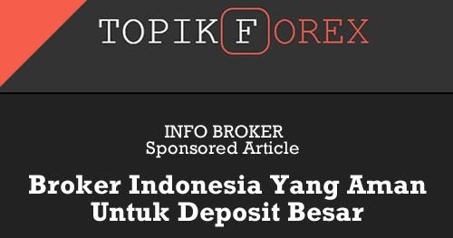 Broker forex yang aman di indonesia