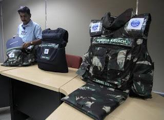 BARC Offers 1st Indigenous Bullet Proof Vest : Bhabha Kavach