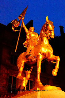 Joan of Arc statue, Paris, France