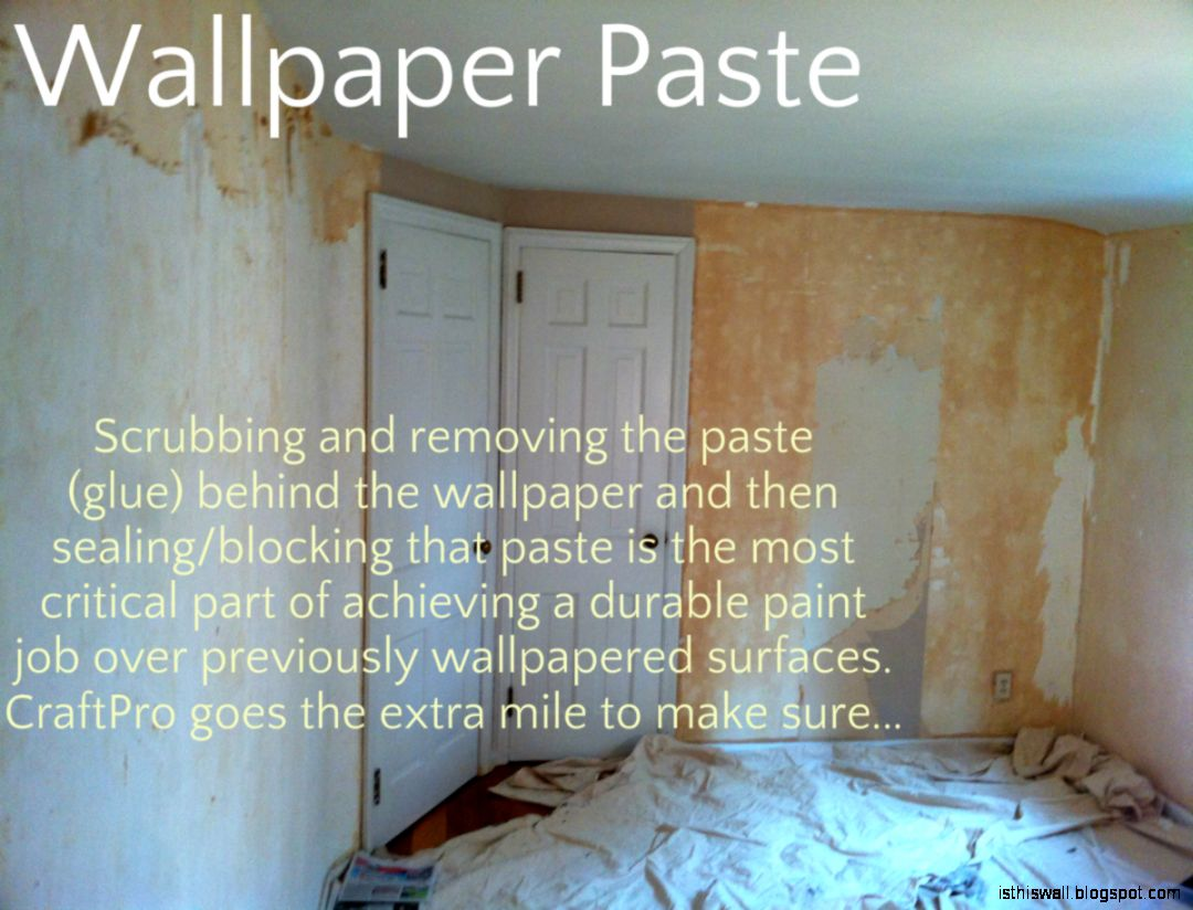 How To Remove Wallpaper Glue | This Wallpapers