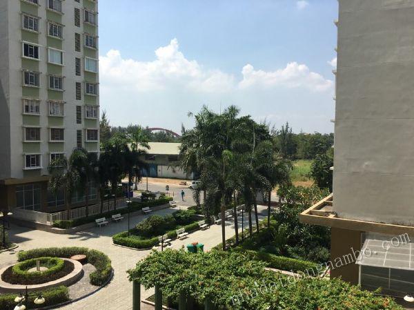 Cho thuê chung cư Phú Lợi quận 8 - 2 phòng ngủ (74m2)