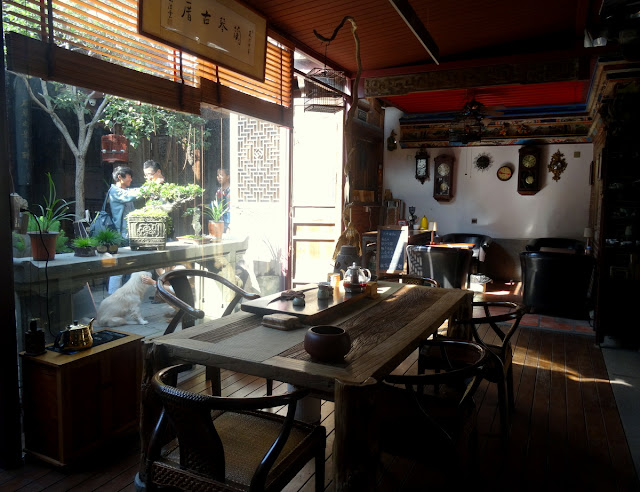 Cafe Breakfast Area Lanqin Guoco Mansion in Xiamen, China