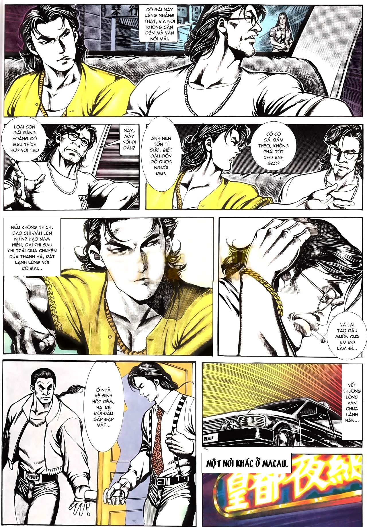 Người Trong Giang Hồ chapter 166: bùng nổ trang 5