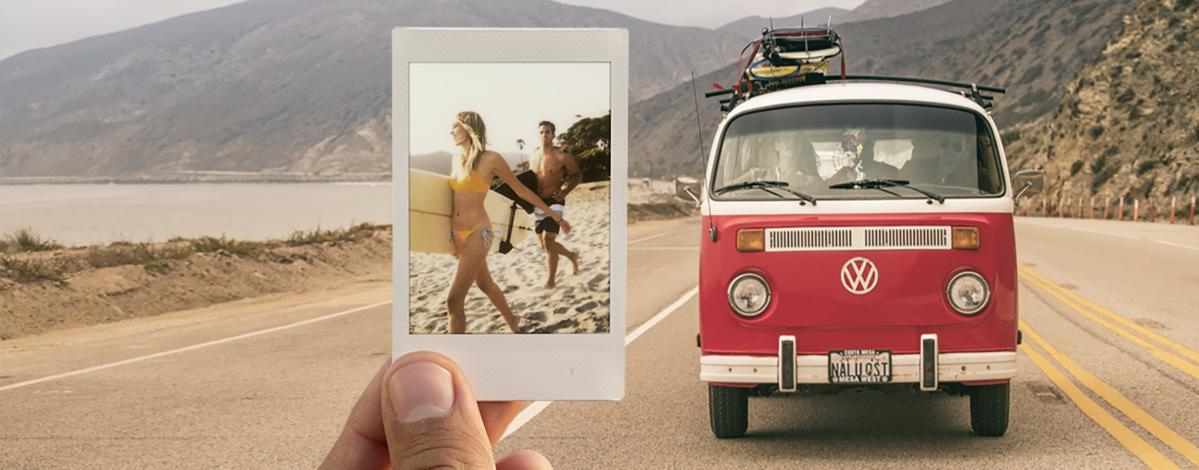 Рекламный баннер Leica Sofort