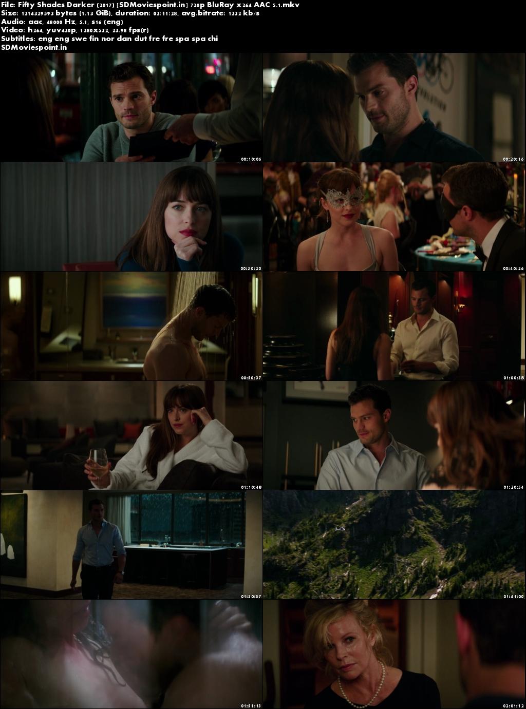 Screen Shots Fifty Shades Darker (2017) Full HD Movie Download 720p