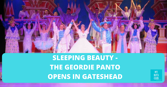 Sleeping beauty - The Geordie Panto Opens in Gateshead