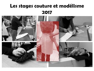 Stages couture et modélisme