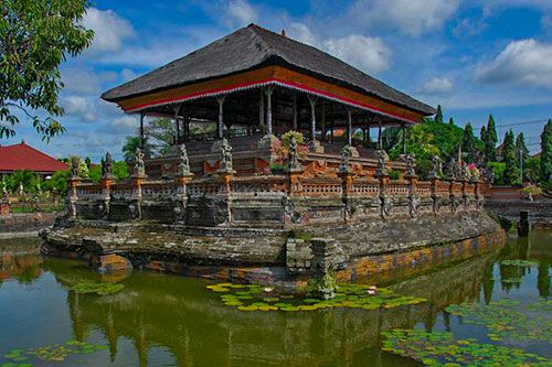 Kerta Gosa Pavilion - Hall of Justice Bali - Mother Temple Besakih Bali Tour Package