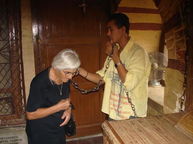 Οι ιερές αλυσίδες του Αγίου Γεωργίου https://leipsanothiki.blogspot.com/