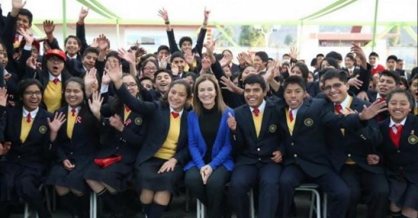 COAR: Red de Colegios de Alto Rendimiento cumple 3 años de creación - MINEDU - www.minedu.gob.pe