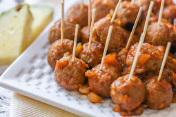 Barbecue Pineapple Meatballs