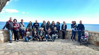 Bloggers en Peñíscola.