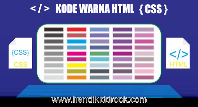 Cara Membuat Warna Pada Blog Dengan HTML