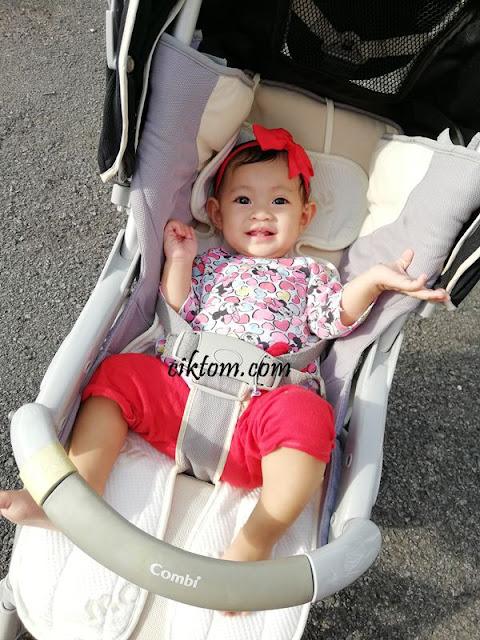 adira selesa dengan stroller liner