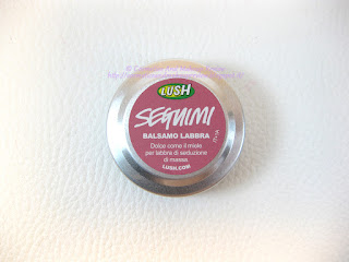 LUSH - Seguimi balsamo labbra (Honey Trap) packaging